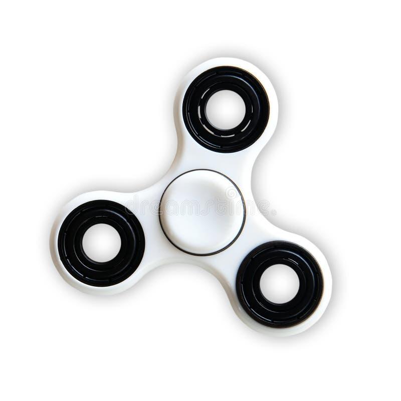 juguete del alivio de tensión del hilandero aislado encendido en blanco imágenes de archivo libres de regalías