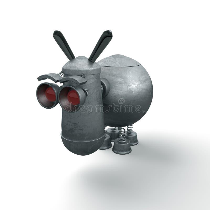 Juguete del burro ilustración del vector