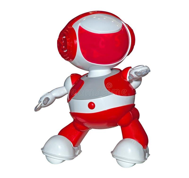 Juguete del robot aislado stock de ilustración