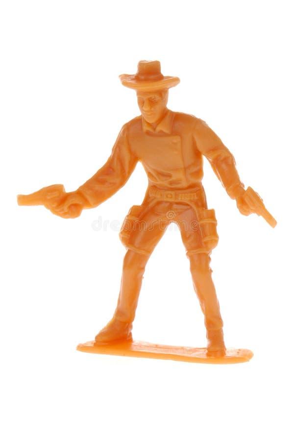 Juguete del vaquero de la vendimia fotografía de archivo libre de regalías
