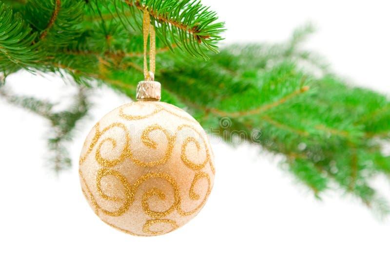 Juguete y árbol de la Navidad fotografía de archivo libre de regalías