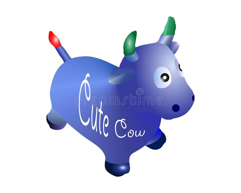 Juguetes de la vaca imagen de archivo libre de regalías