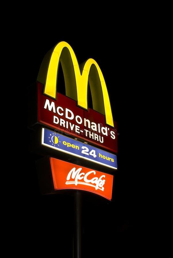 Juguetes de los cabritos, proscritos en McDonalds, San Fransisco foto de archivo