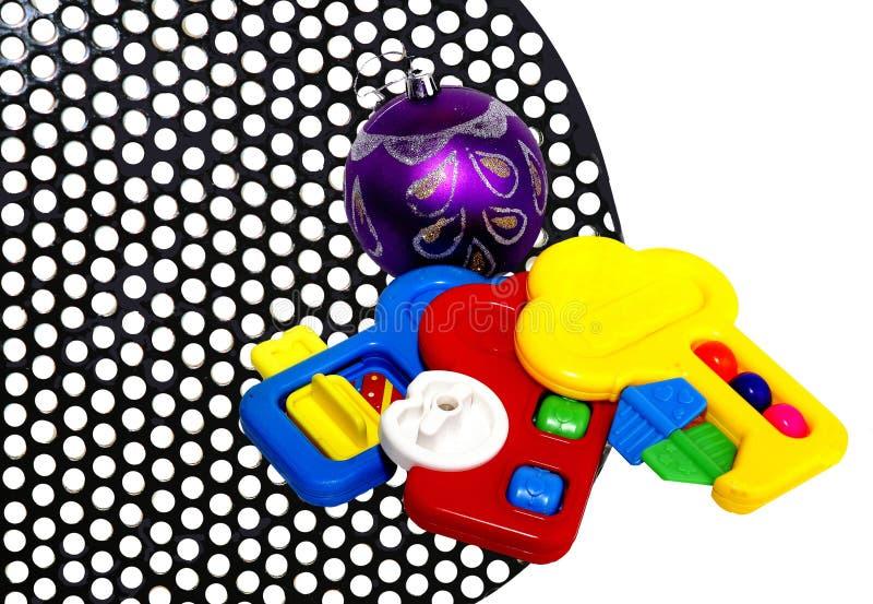 Juguetes de los niños. fotos de archivo