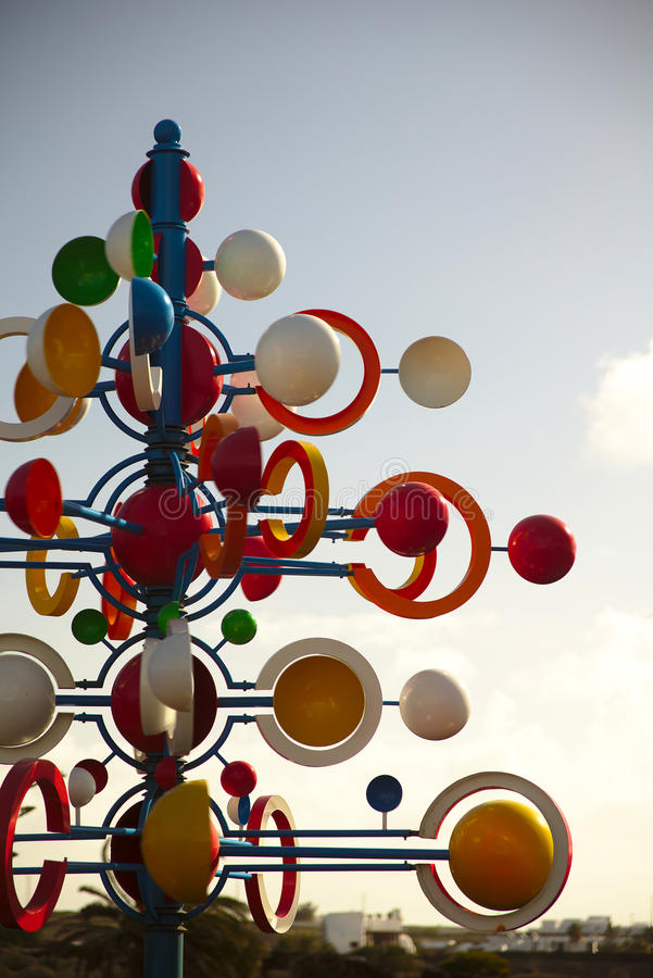 Juguetes de viento photos libres de droits
