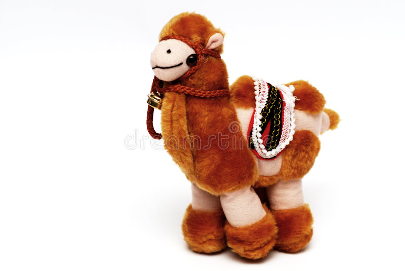 Juguetes del camello foto de archivo