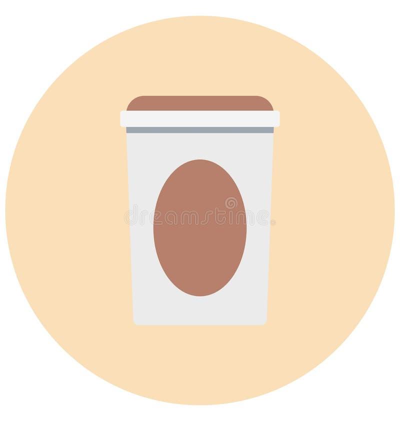 Juice Cup Illustration Color Vector isolerade redigerbart för symbol lätt och specialt bruk för fritid, lopp och turnerar stock illustrationer