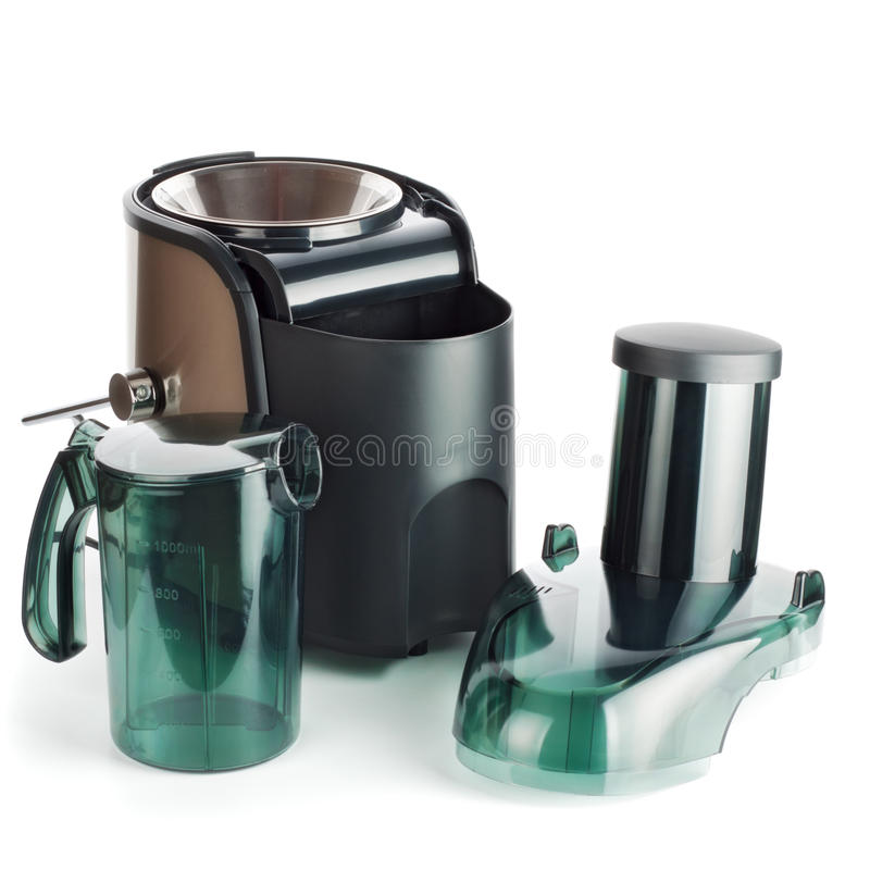 Juice extractor parts royalty free stock image