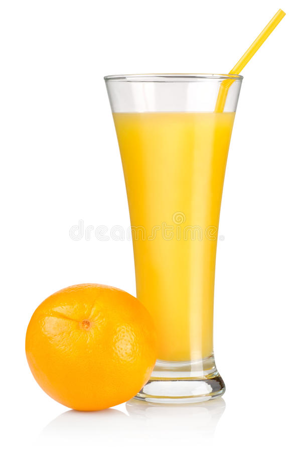 Juice and fruit royalty free stock photo