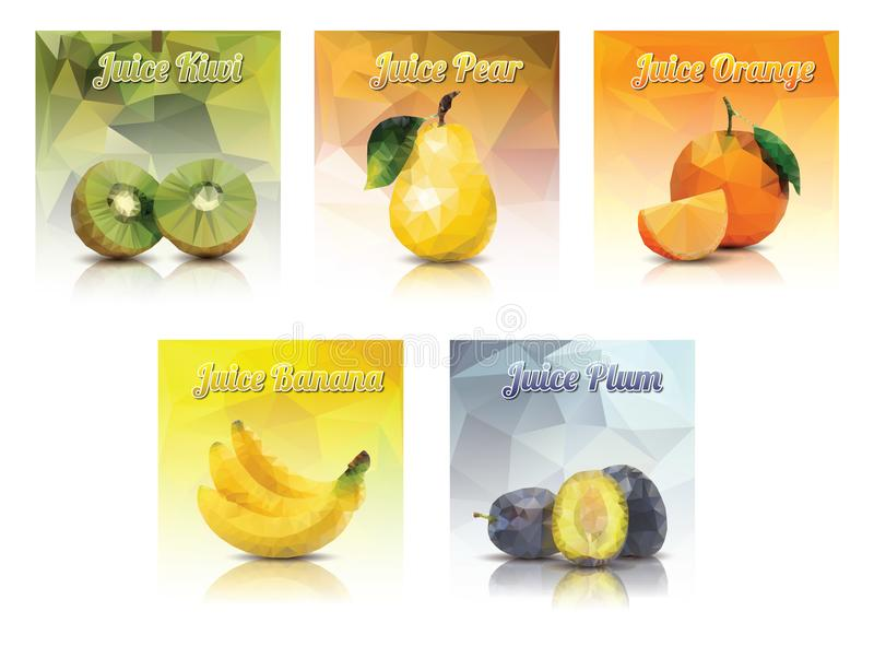 Juice fruits royalty free stock images