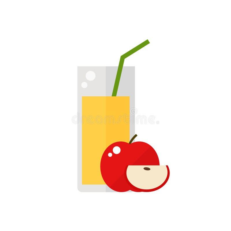 Juice icon. stock illustration