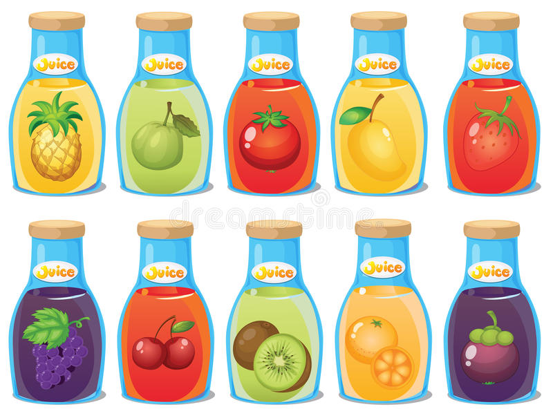 Juice royalty free illustration