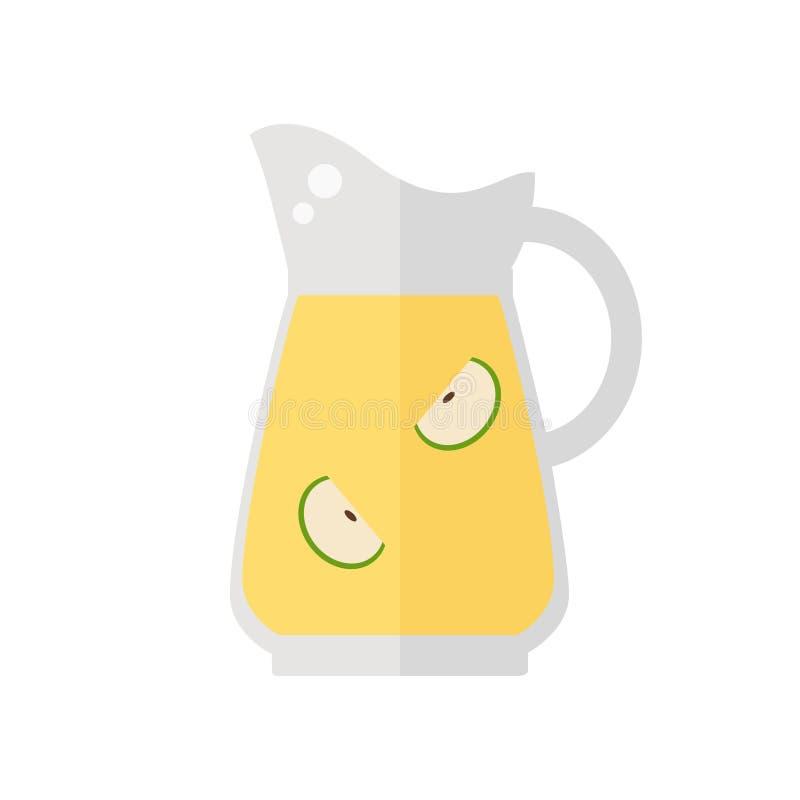 Juice jug icon. royalty free illustration