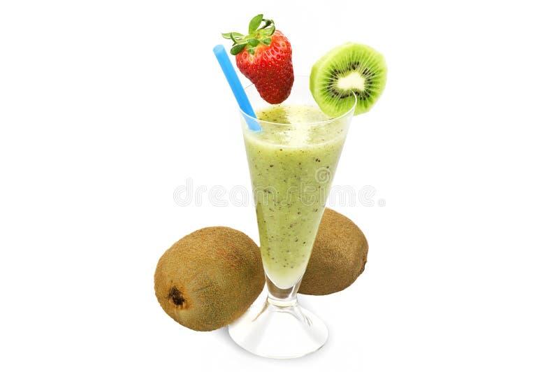Juice of kiwi stock image