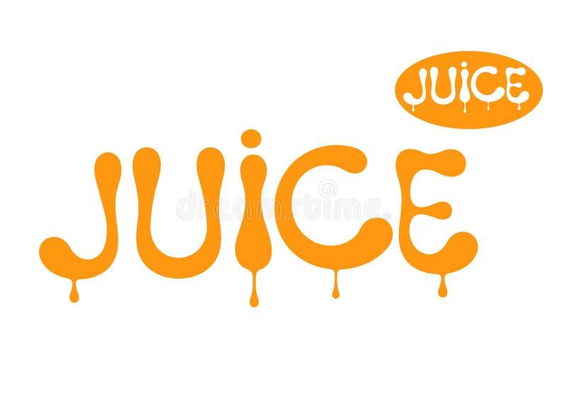 Juice. Vector illustration (EPS 10) royalty free illustration