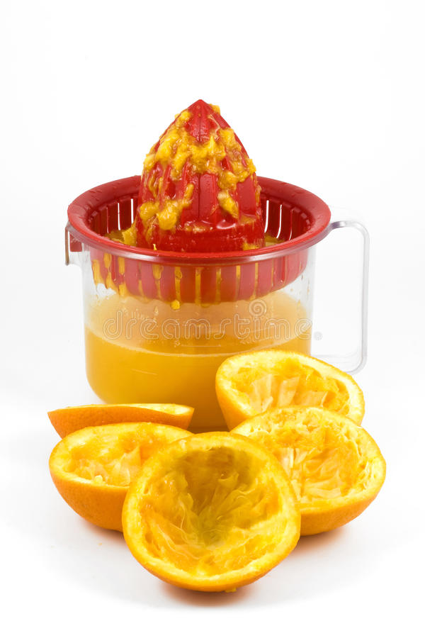 Download Juicer πορτοκάλι στοκ εικόνα. εικόνα από πορτοκάλι, διατροφή - 13181901