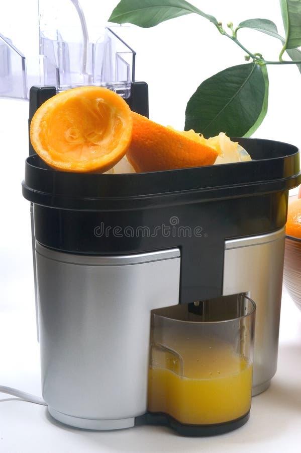 Juicer avec des citrons et des oranges photos libres de droits
