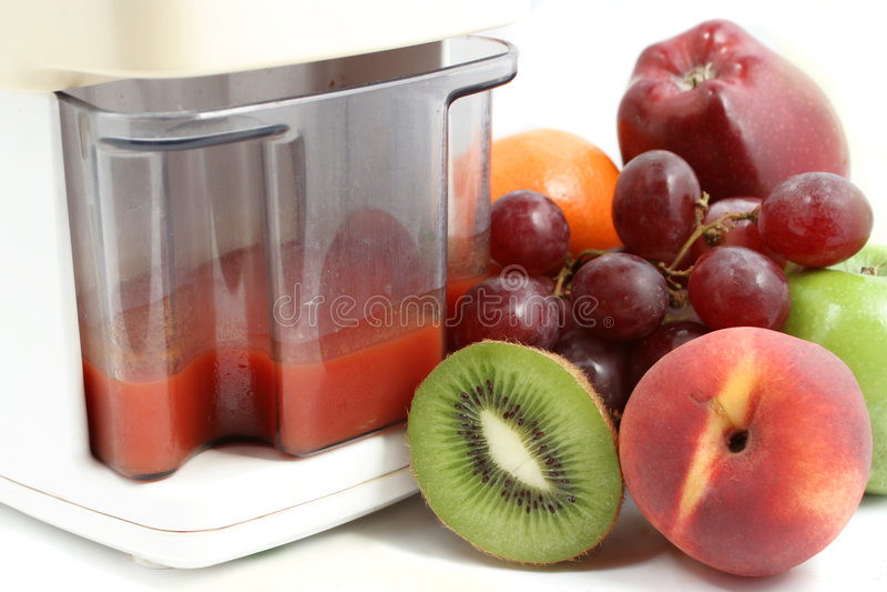 Juicer de fruit images libres de droits