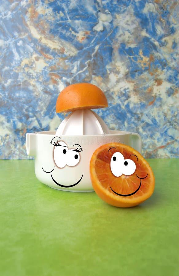 juicer pomarańcze zdjęcie stock