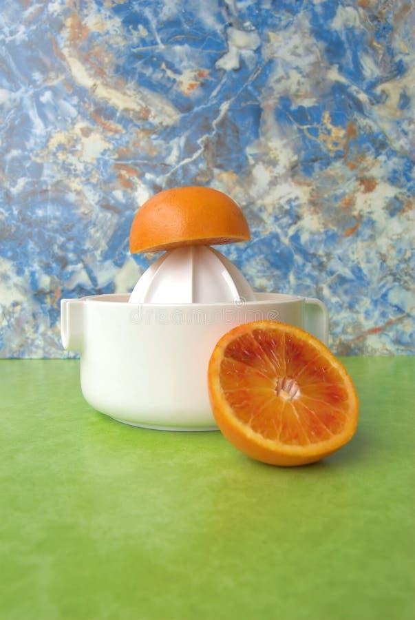juicer pomarańcze obraz stock