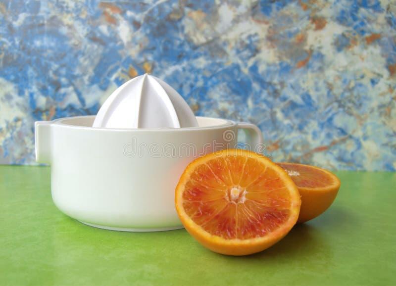 juicer pomarańcze obraz royalty free