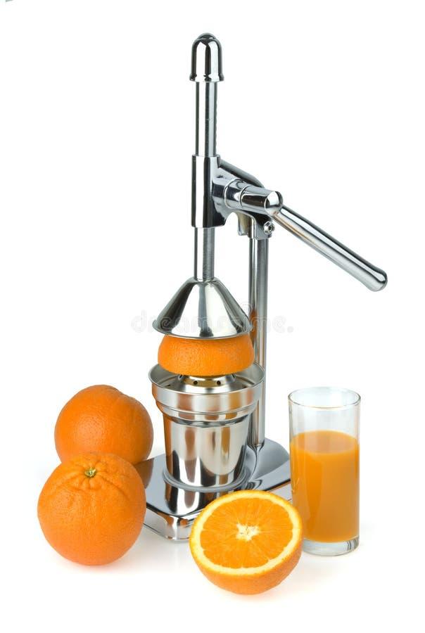 Juicer pour un citron photos stock