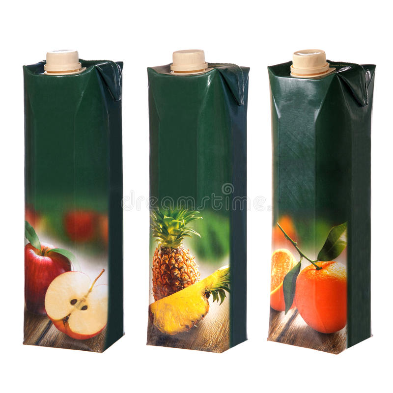 Download Juices cartons with cap stock image. Image of food, blank - 42199707