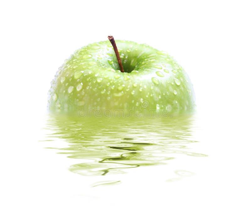 juicy ύδωρ μήλων στοκ εικόνες