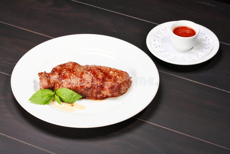 Download Juicy beef steak stock photo. Image of grilled, restaurant - 10300462