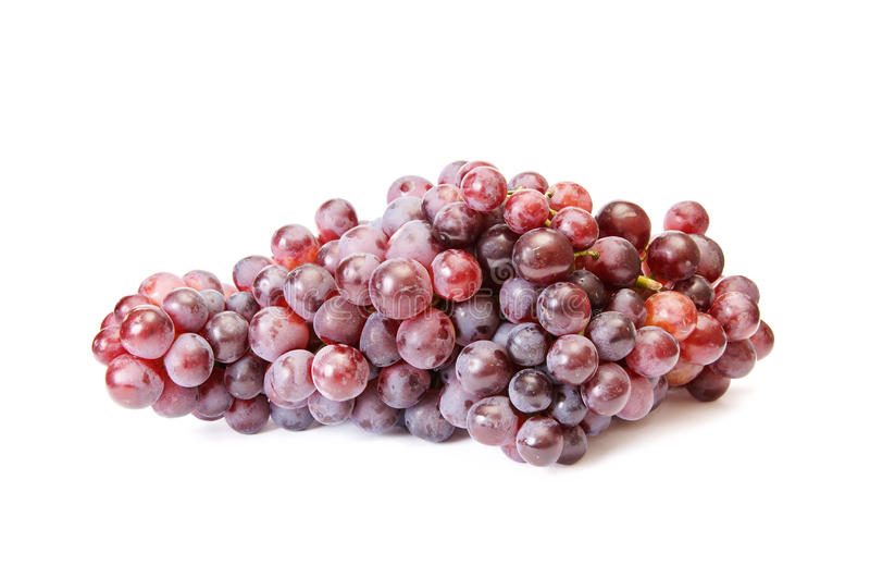 Download Juicy Blue Grapes On A White. Royalty Free Stock Photo - Image: 11231695