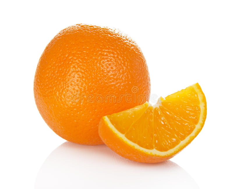 Download Juicy fresh orange stock photo. Image of isolated, dessert - 35858080