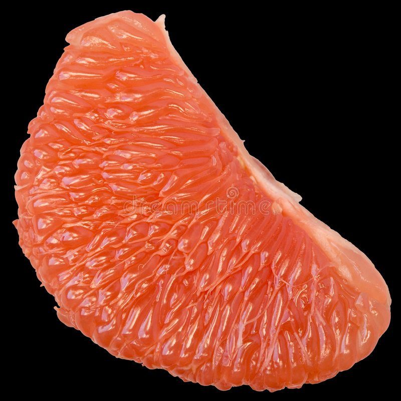 Juicy grapefruit stock photography