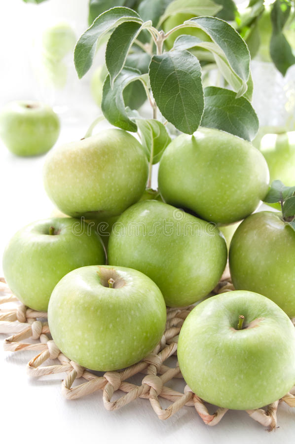 Download Juicy Green Apples Royalty Free Stock Photography - Image: 26344567