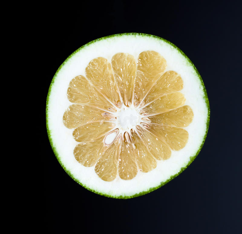 Juicy Half Of Grapefruit Royalty Free Stock Photography