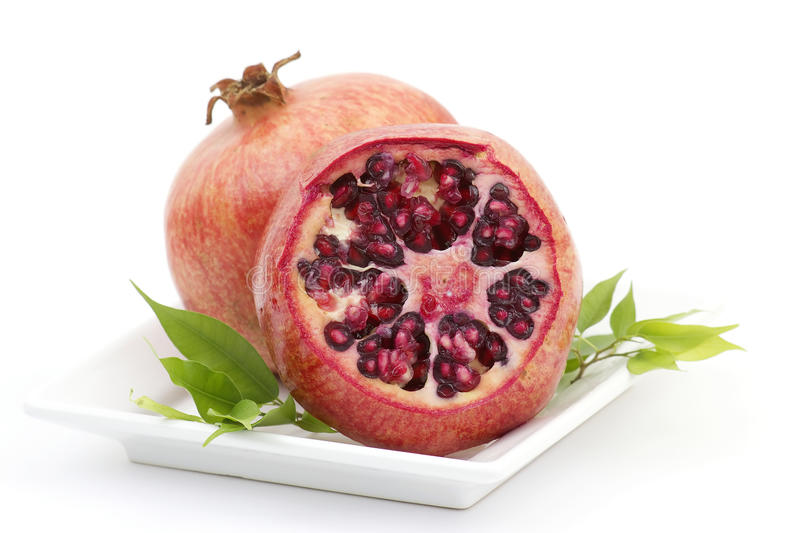 Download Juicy pomegranate stock image. Image of fruit, part, seed - 17778553
