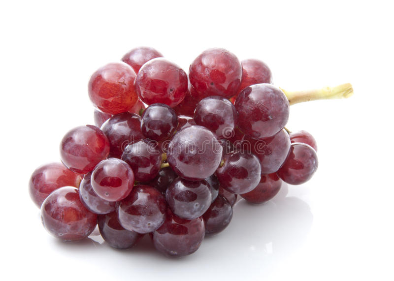 Juicy Red Grape royalty free stock image