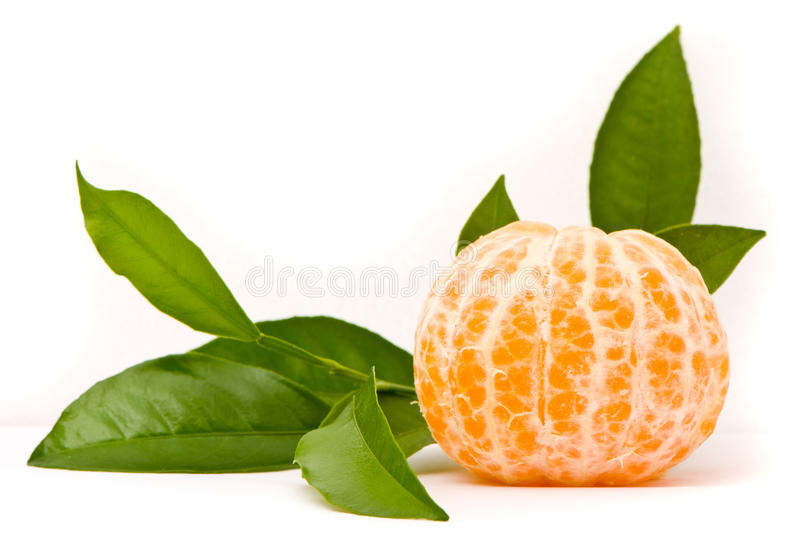 Juicy Tangerine Royalty Free Stock Image