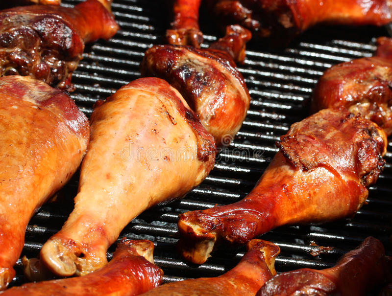 Download Juicy Turkey Legs stock photo. Image of heat, fire, fresh - 19235876