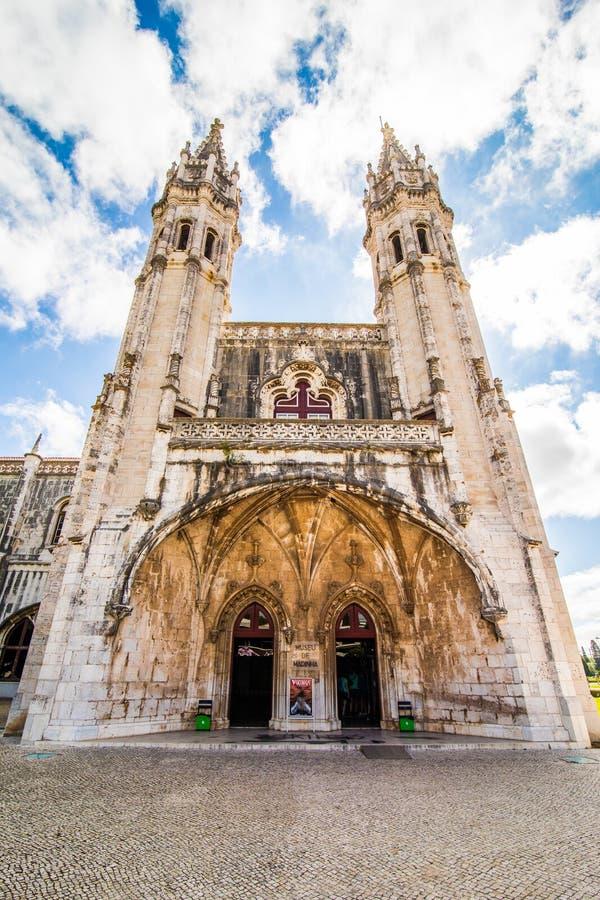 10 juillet 2017 - Lisbonne, Portugal Le monastère de Jeronimos ou le monastère de Hieronymites est situé à Lisbonne, Portugal photo libre de droits