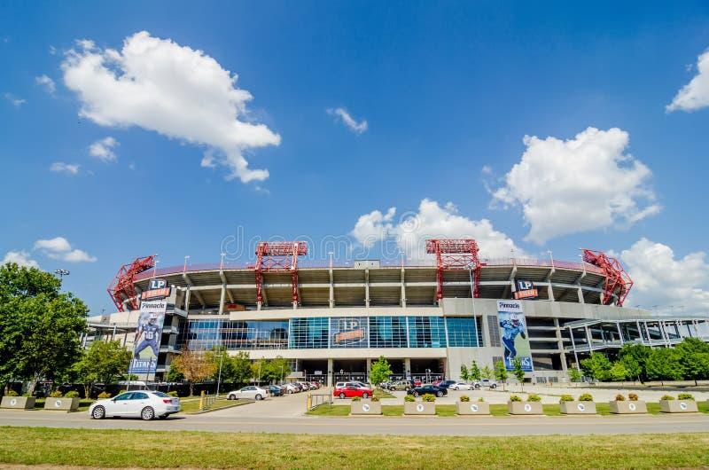 20 juin 2014 Le stade est le champ à la maison du Tennes du NFL images stock