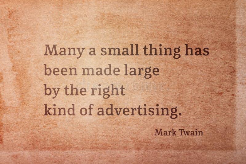 Juist soort Twain stock afbeeldingen