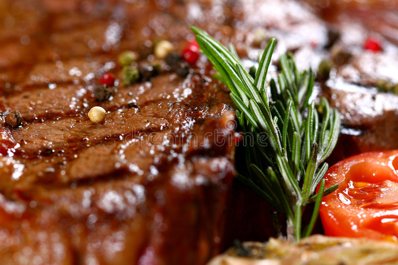 Juixy steak royalty free stock photography