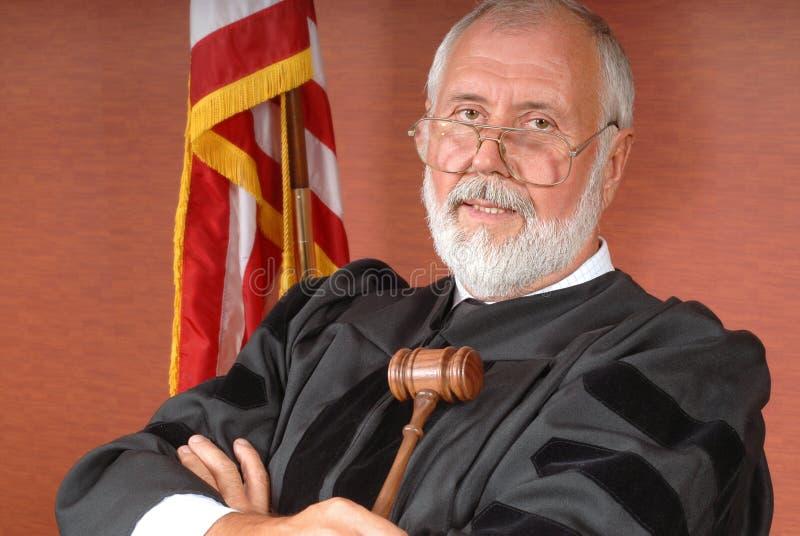 Juiz americano foto de stock