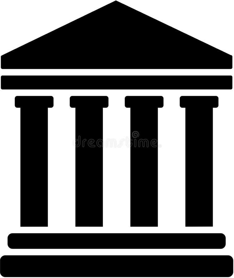 Juiz Court Symbol ilustração royalty free