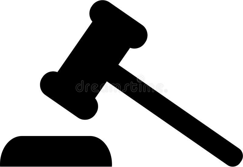 Juiz Gavel Justice ilustração stock