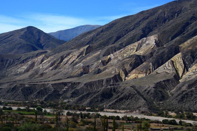Jujuy, het noorden van Argentinië royalty-vrije stock afbeelding