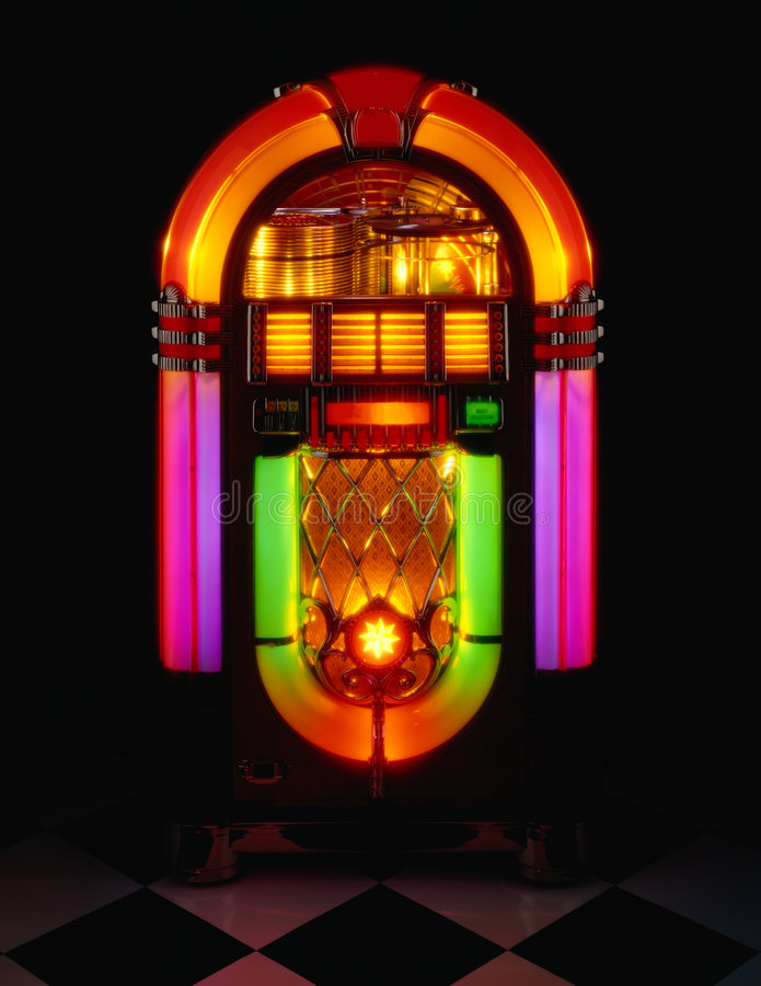 Juke Box stock image