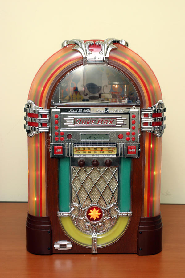 Jukebox imagem de stock royalty free