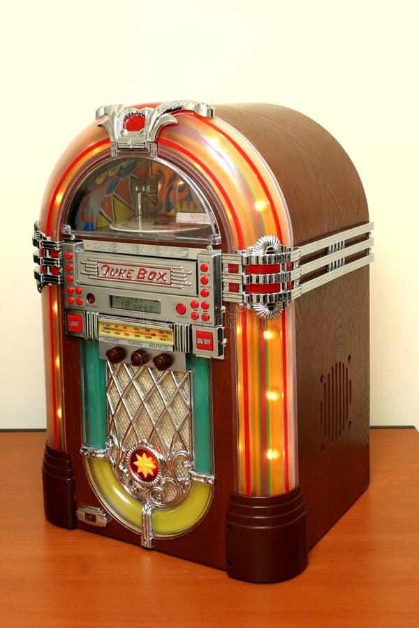 Jukebox fotografia de stock