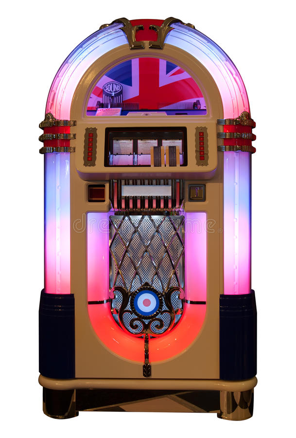 Jukebox foto de stock